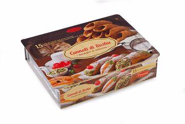 Immagine di BUCCE PER CANNOLI SICILIANI MEDI 15 cannoli a confezione