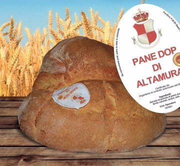 Immagine di PANE ALTAMURA DOP ALTO PANIFICIO FRATELLI DI GESU' DA 1 Kg - Ordinabile solo il lunedi e martedi
