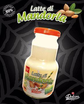 Immagine di LATTE DI MANDORLA CLASSICO BOTTIGLIA DI  VETRO DOLCON 200 ml