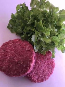 Mix burger fassone e suino da 160 Gr. 2 pezzi