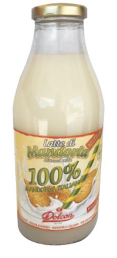 LATTE MANDORLA CLASSICO BOTTIGLIA VETRO DOLCON DA 0,75